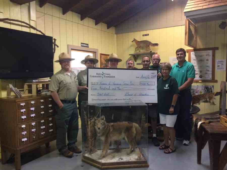 Versailles State Park Receives a Grant
