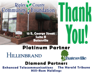 RIPLEY COUNTY COMMUNITY FOUNDATION IS GRATEFUL TO 2018 PARTNERS