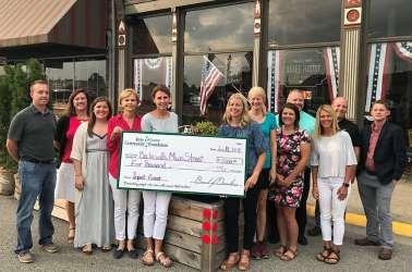 Batesville Main Street Receives Sally Morris Impact Grant
