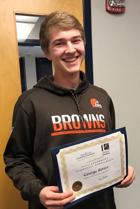 Congratulations to our 2019 Lilly Endowment Community Scholar, George Ritter!