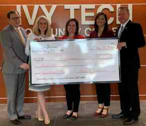 Ripley County Community Foundation Supports Ivy Tech-Batesville