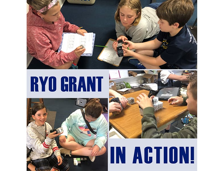 RYO Grant Makes a Difference!