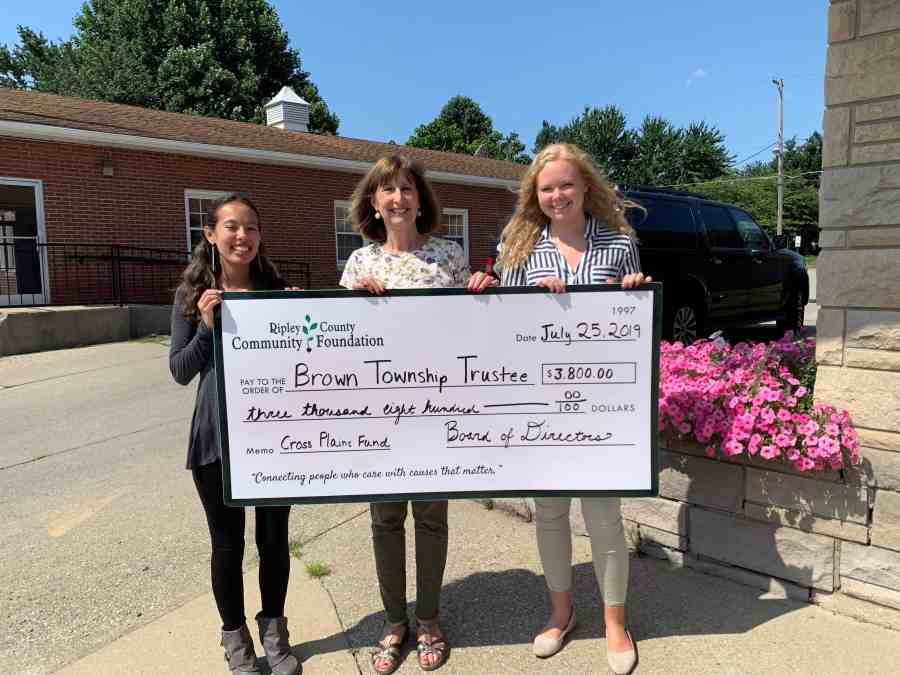 Cross Plains Grant Awarded
