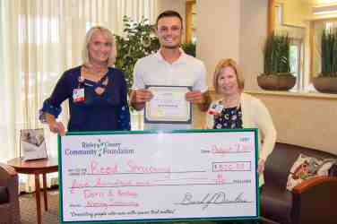 Doris A. Brelage Nursing Scholarship Awarded to Reed Struewing
