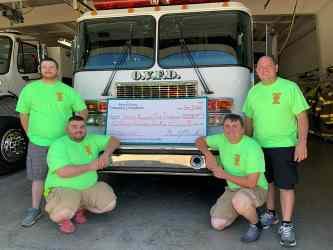 Osgood Volunteer Fire Department Grant Recipient